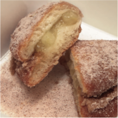 Japanese Apple & Cinnamon Doughnut